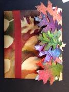 Autumn Leaves Envelope - back