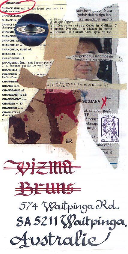 envoi Vizma B