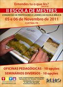 II Escola de Mestres 2011