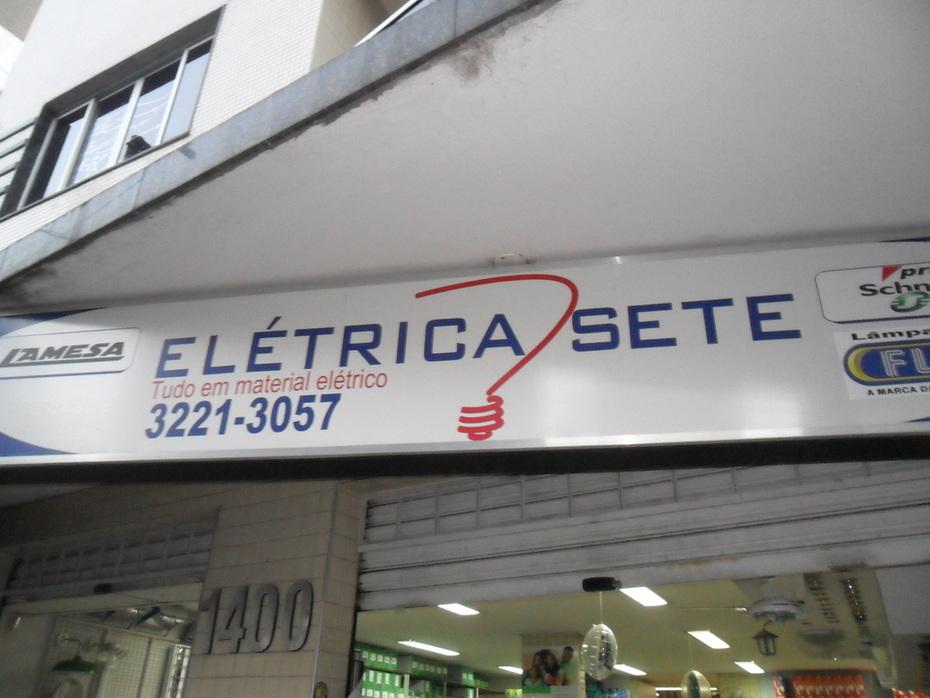 ELETRICA SETE NA AVENIDA 7 DE SETEMBRO