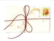 Send Letters Zine in handmade paper envelope