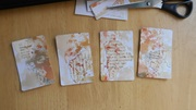 A first attempt at making ATCs.