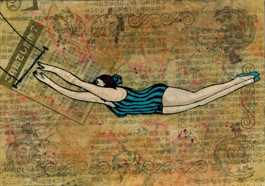 Trapeze by Shellie Lewis April 2015