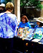 Diane (Curtis) Regan At Her Book Signing