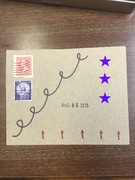 mail art August 5 2015 number 2