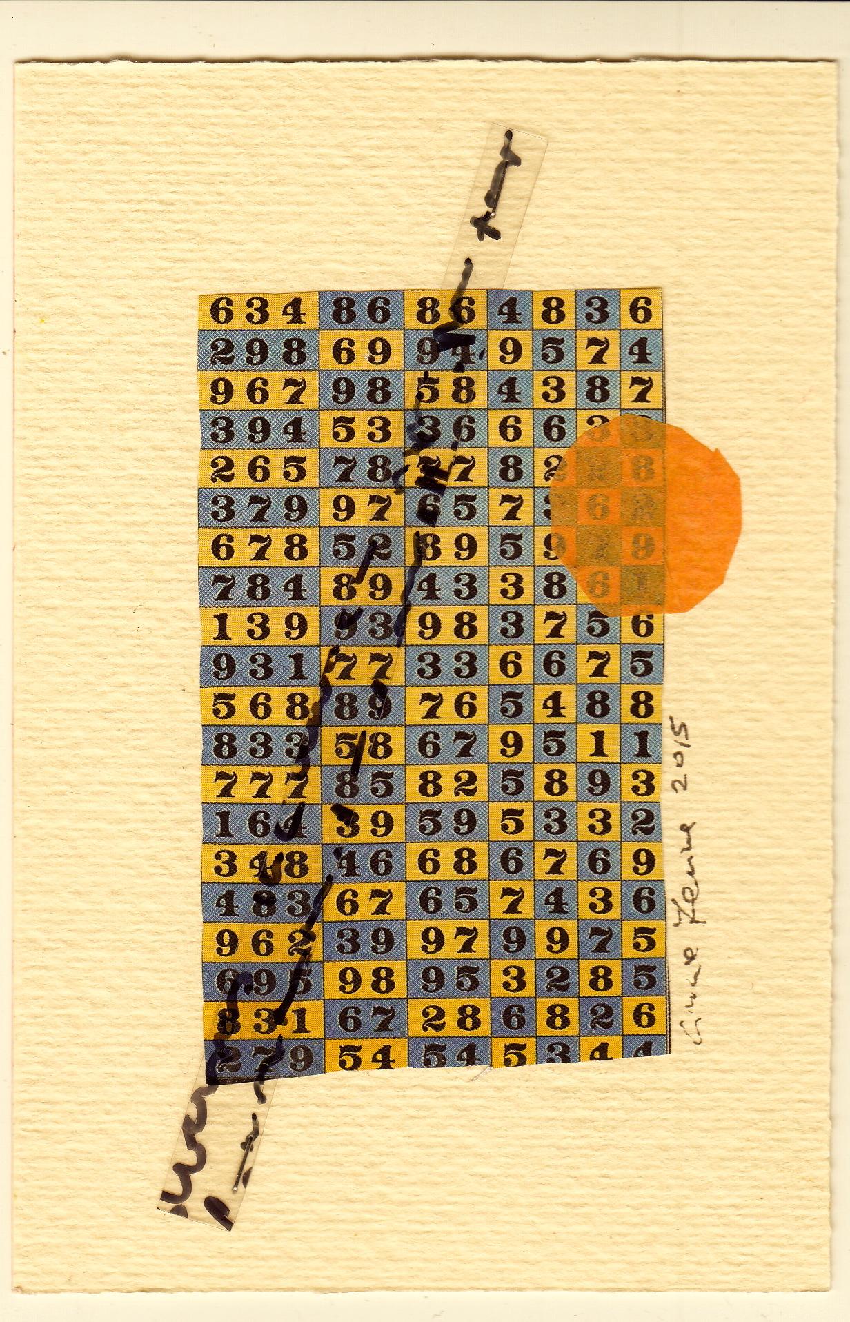 "Cinzia Farina - ""numbers"""