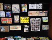 Mail Art Display BSU 2016