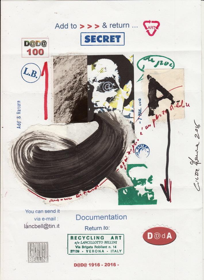 """Cinzia Farina - """"ogni sogno è un pozzo di dolore"""", add & return A. Artaud, di Lancillotto Bellini"""