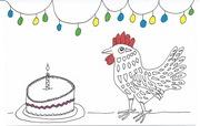 121/365.3 chicken celebrates world egg day 2016