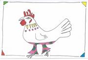 124/365.3 chicken celebrates wear something gaudy day 2016
