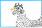 131/365.3 yellow-beaked chicken