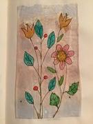 Illustration on used teabag