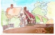 042b -Postcard from Gillingham Kent 1929