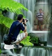 Tirando foto_Sidnei Piedade