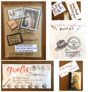 Mail-art received from Richard Baudet
