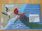 Mail Art Envelope to Patricio (The Celestial Scribe)