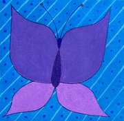 Periwinkle Butterly