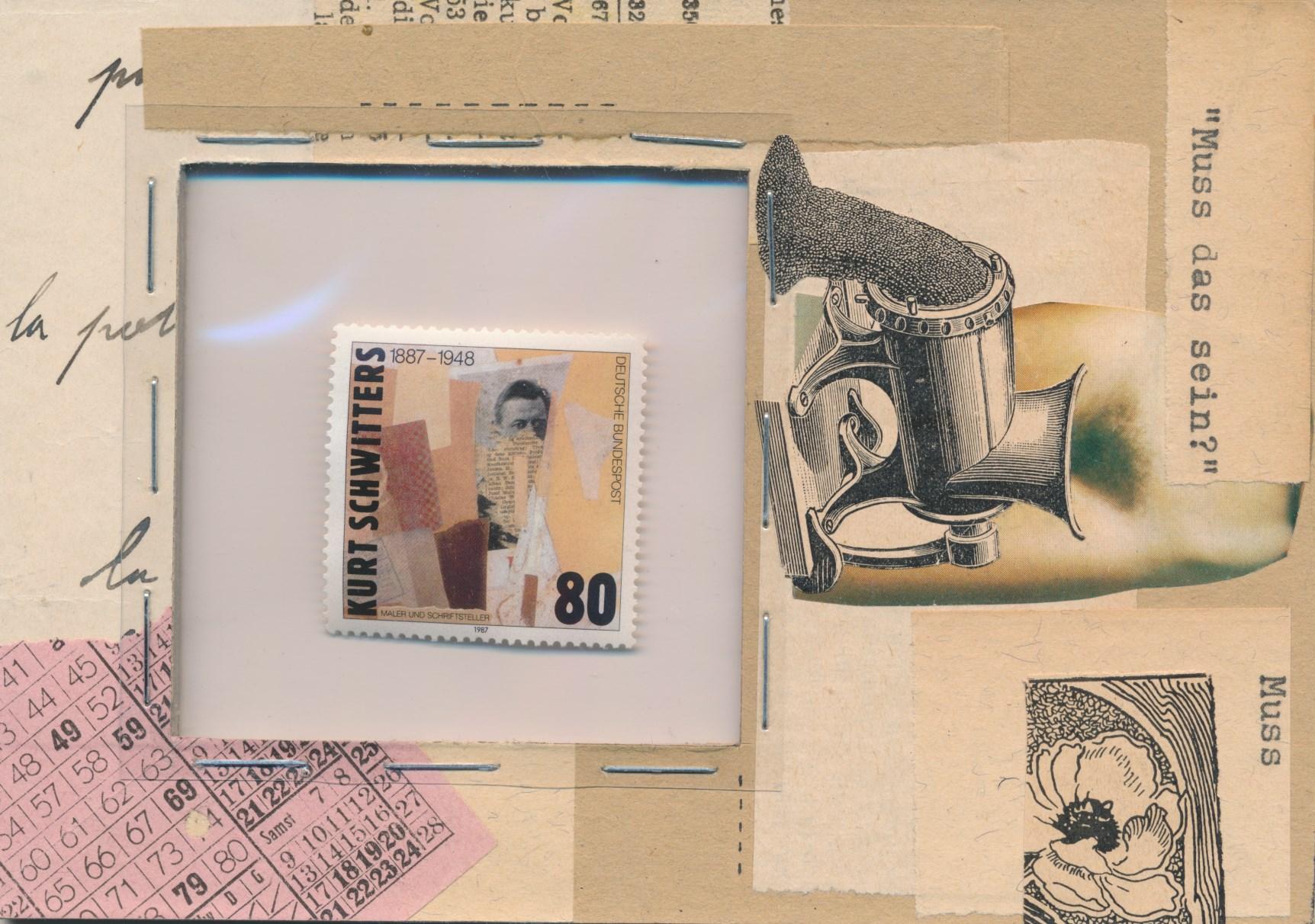Mail art from Walter Brandtner/AUSTRIA