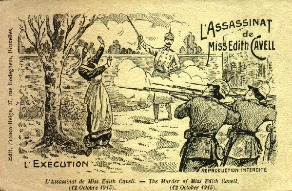 Edith Cavell's execution