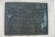 COL Twiggs Cemetery Plaque