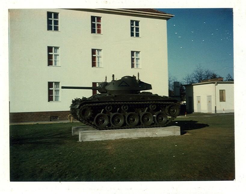 M24 on display at Pond Barracks