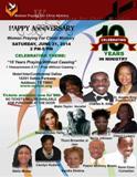 WPFCM 10th Year Anniversary Celebration