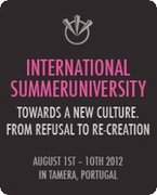 18th Summer University Tamera - Towards A New Culture