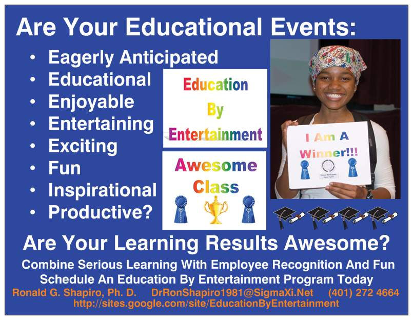 Education By Entertainment Educational Events Magnet Colleen Williams