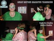 Great Mother-Daughter Teamwork in the Perceptually Inverted Navigation (PIN) Activity