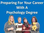 "Texas Tech University ""Preparing for your Career with a Psychology Degree"" Photo Album Lubbock TX 2014-11-13"