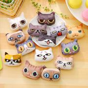 Super Cute Handmade Cat Brooches Set