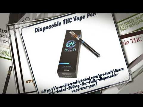 Disposable THC Vape Pen