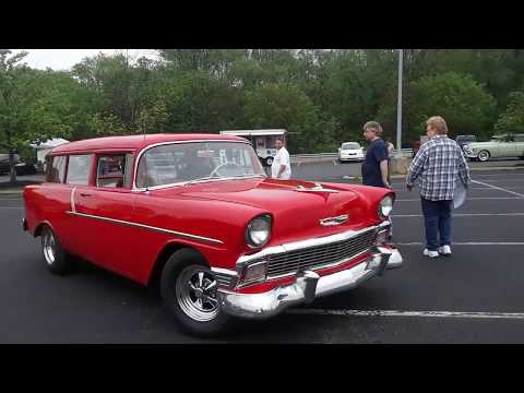 Checking Out Classic Cars With Pam At the Pottstown Classic Car Club May 2019 Cruise