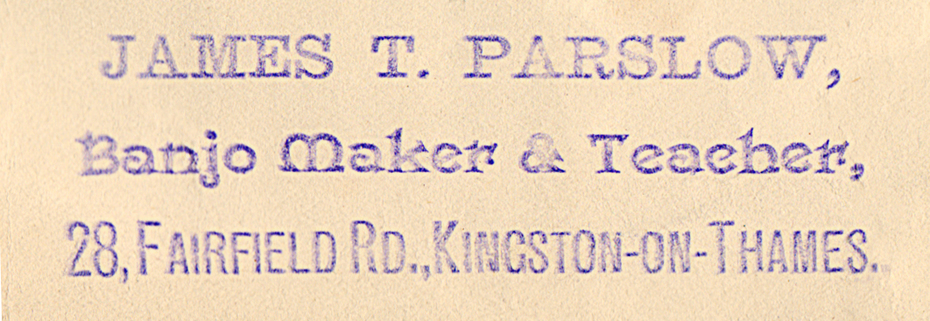 Parslow stamp