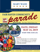 Fair Haven Parade hosted by Mary Wade