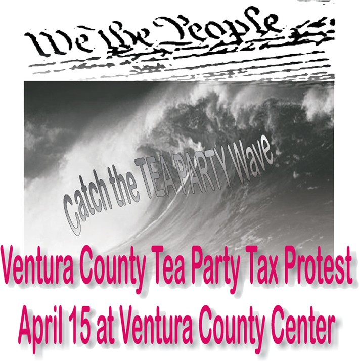 Ventura Tax Day Tea Party 4/15/10