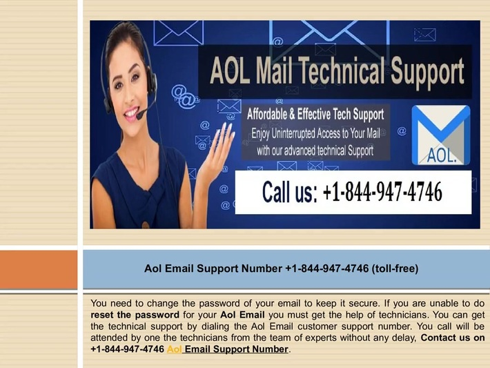 Facing issues in contacting AOL Email Support call on +1-844-947-4746 (toll-free)