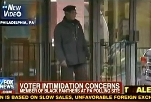Black Panthers Back at Polls- But We Have Tea Partiers Armed With Complaint Forms Here