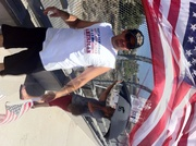 """Why """"Obama"""" fears returning veterans- at Impeach Obama Protest in Simi Valley- 6-28-14"""