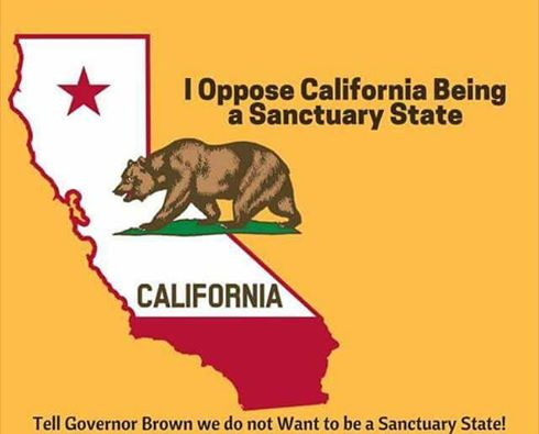 No Sanctuary State!