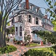 Big Pink House, Cecilton MD USA
