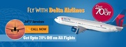 Avail Cheap Ticket Booking Services at Delta Airlines Reservations