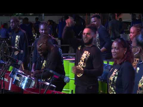 Pan Elders Steel Orchestra - NORTH SOUTH PAN SPEKTAKULA at Skinner Park, San Fernando