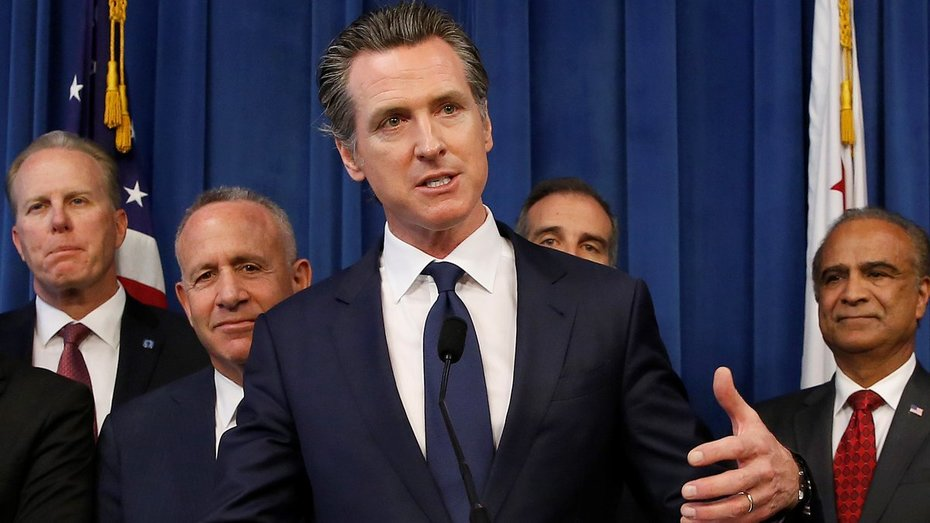 "CA Gov. Newsom says homelessness In CA Is A Natl Disgrace - Appoints ""Task Force""  lol"
