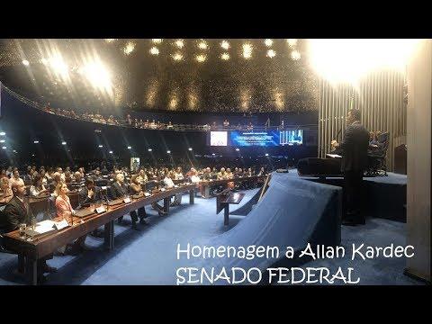 """Haroldo Dutra Dias """"Homenagem  a Allan Kardec no SENADO FEDERAL"""""""