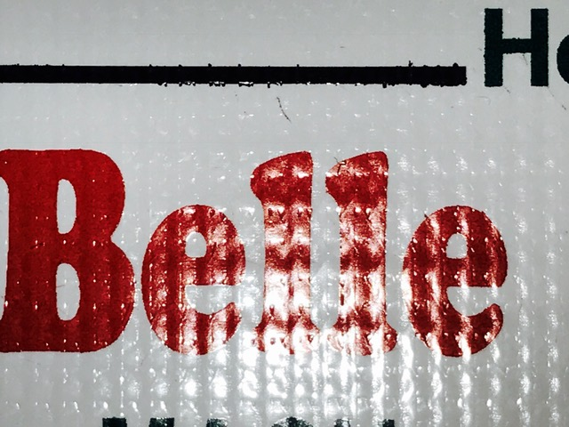 Bleeding on Banner Material - MyVersacamm com