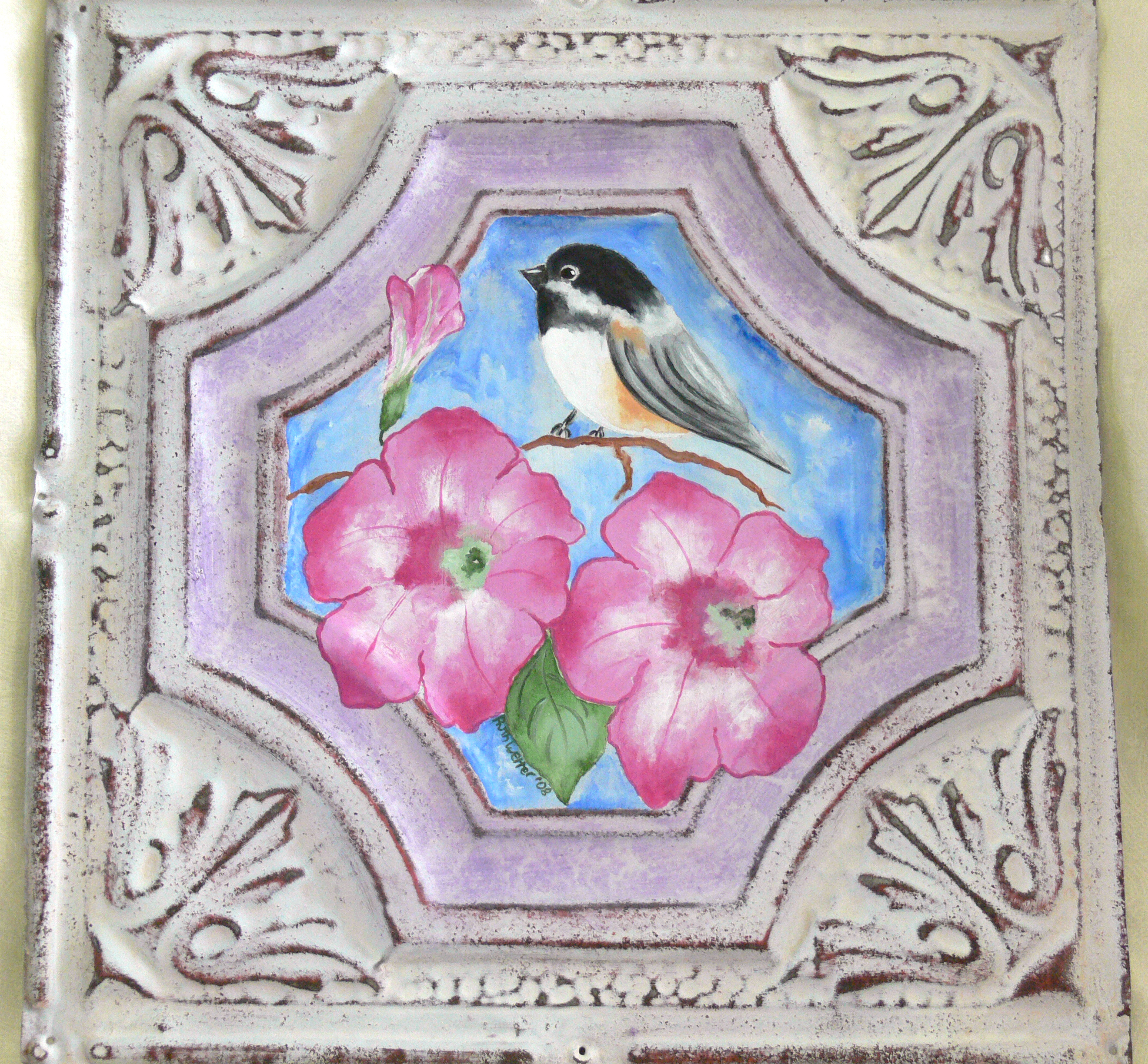 Decorating With Elegant And Ornate Antique Ceiling Tiles