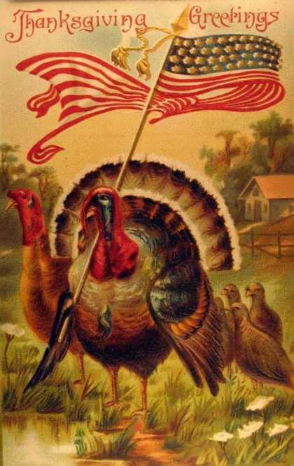Vintage Thanksgiving Postcards I Antique Online