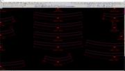 Automatic length dimension curve radius