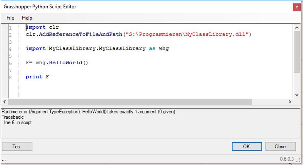 Implement  dll (VB NET) in GH Python – Grasshopper